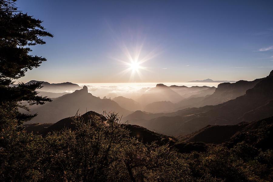 Landscape, Gran Canaria, Canary Photograph by Tim E White