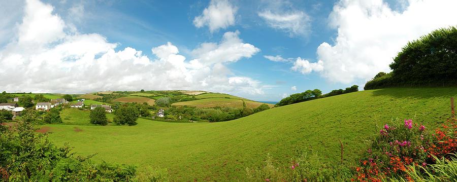 Landscape In Devon, Gb Photograph by Hiob