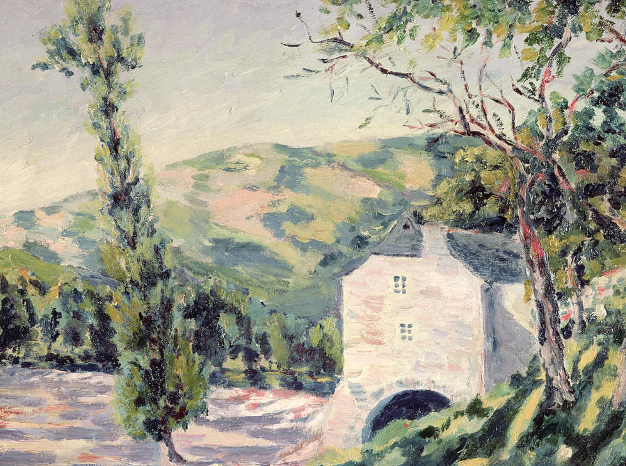 Landscape Painting - Landscape In Provence by French School