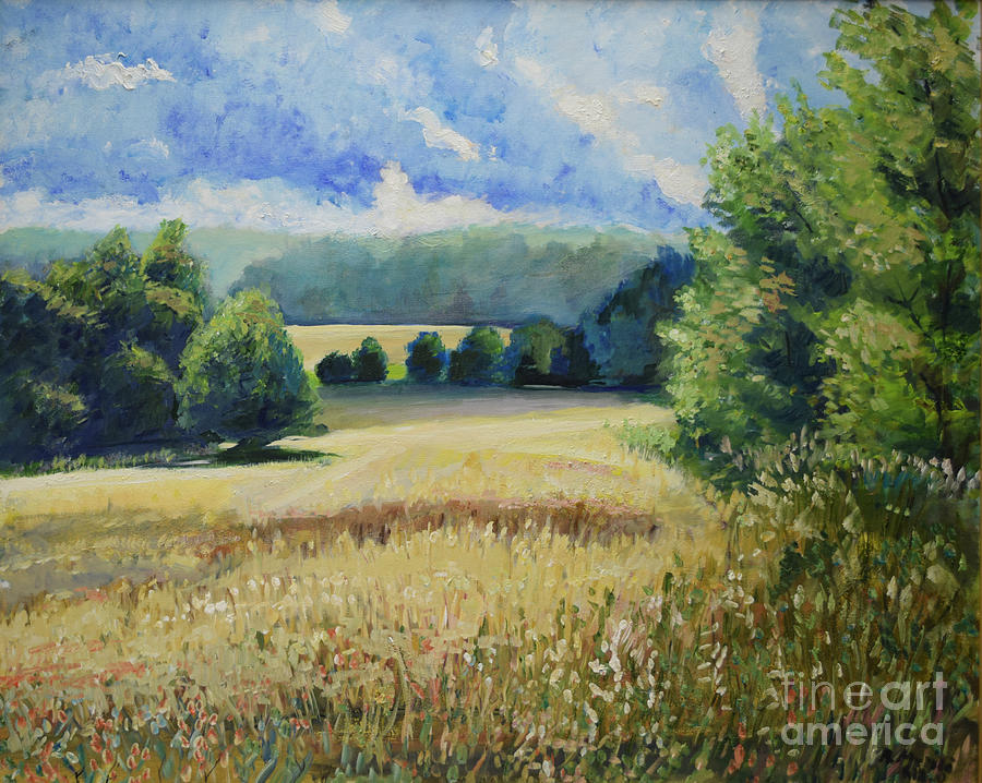 Landscape Near Russian Border by Raija Merila
