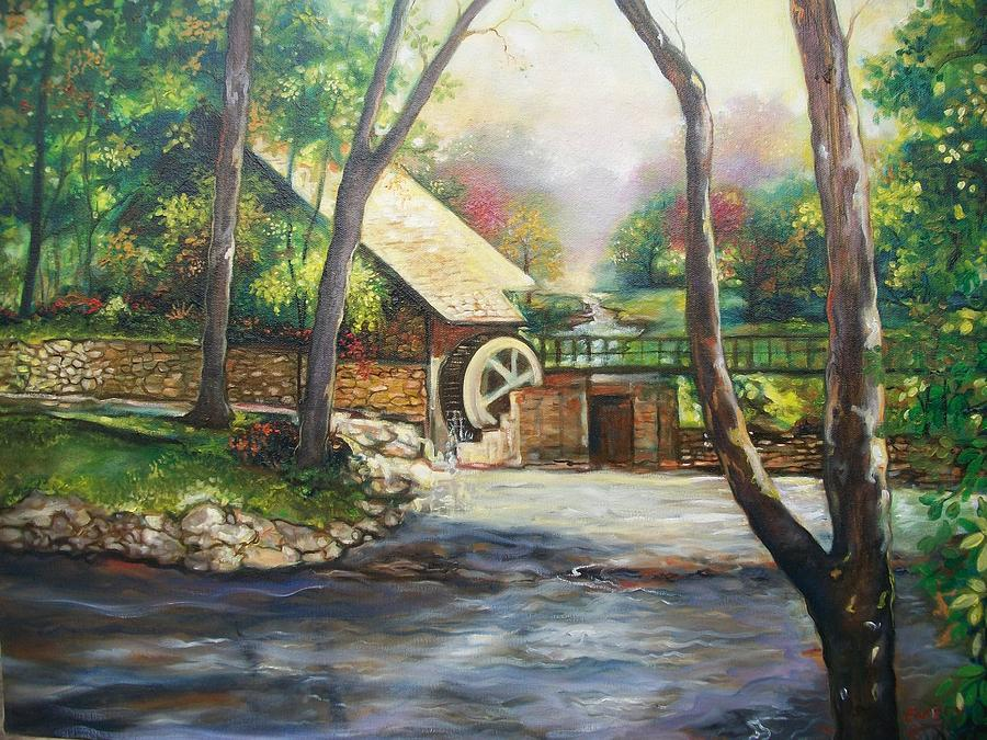 Landscape Painting - Landscape Of Love by Emery Franklin