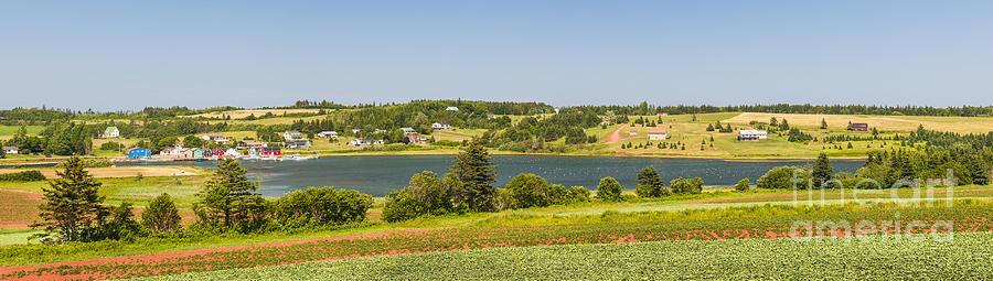 Pei Photograph - Landscape Panorama Of Prince Edward Island  by Elena Elisseeva