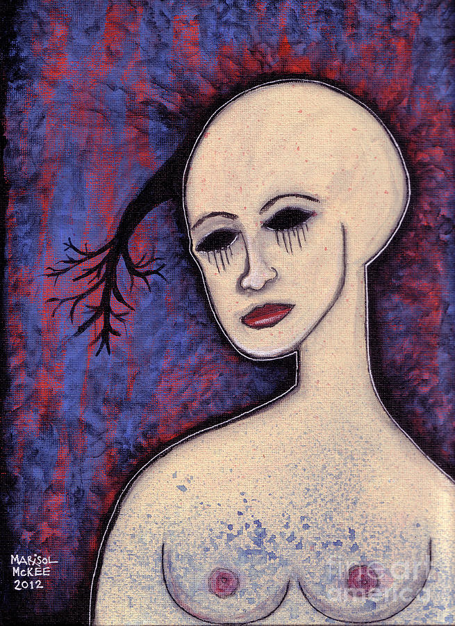 Face Painting - Languid by Marisol McKee