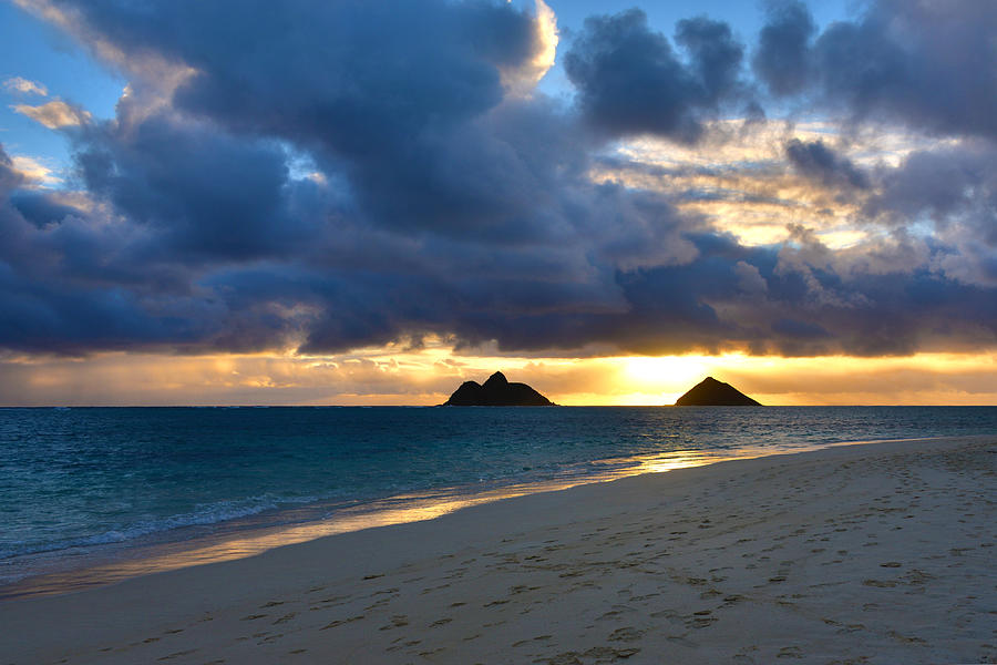 Lanikai Beach Sunrise 3 - Kailua Oahu Hawaii Photograph by ...