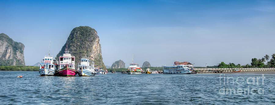 Asia Photograph - Lanta Island Dock by Adrian Evans