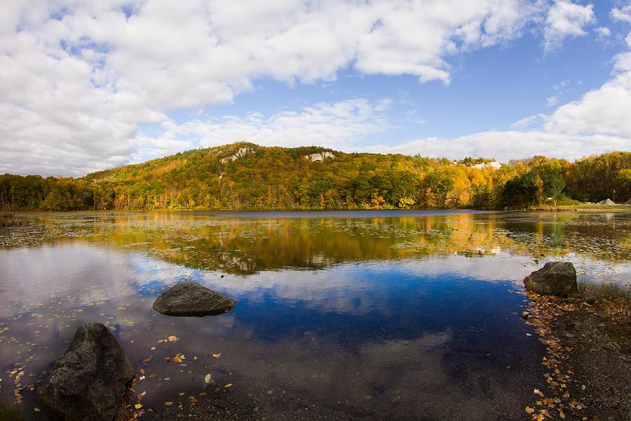 Lantern Hill Photograph - Lantern Hill Pond - North Stonington CT by Kirkodd Photography Of New England