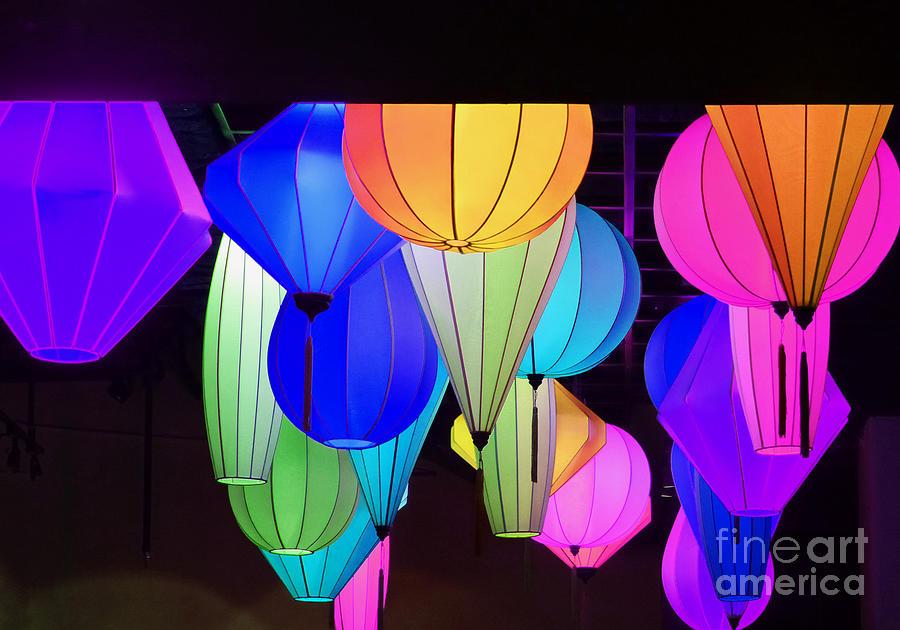 Lanterns by Marguerita Tan