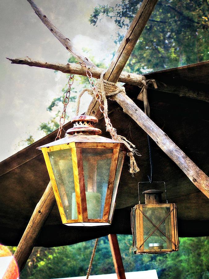 Historic Photograph - Lanterns by Marty Koch