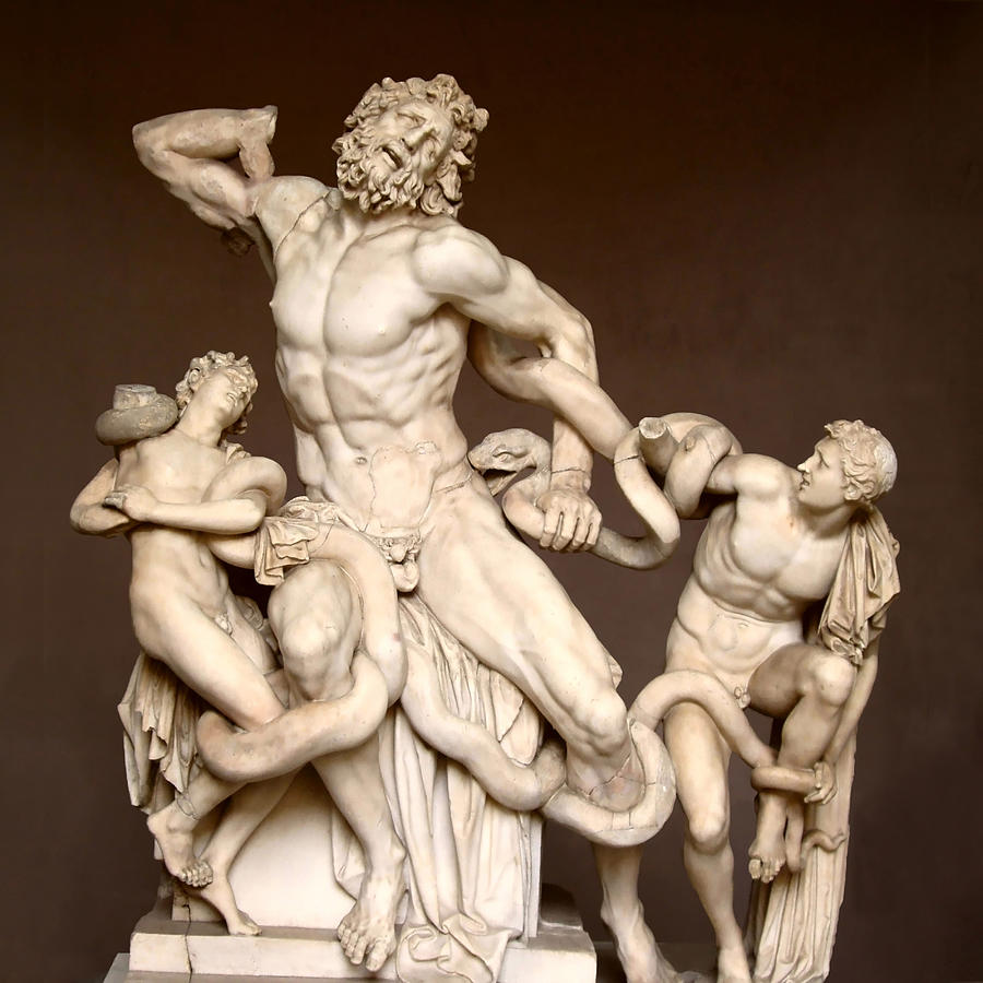 Laocoon And Sons Photograph - Laocoon And Sons by Ellen Henneke