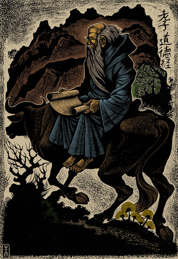 Religion Photograph - Laozi, Ancient Chinese Philosopher by Science Source