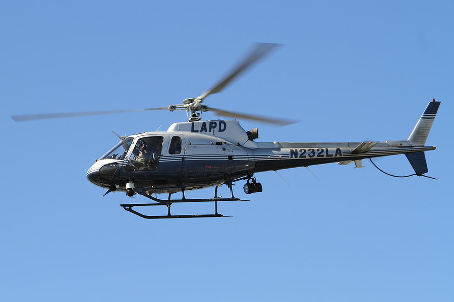Lapd Photograph - Lapd In Flight by Shoal Hollingsworth