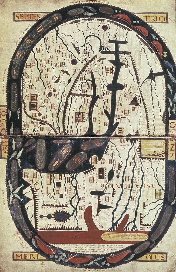 Middle Ages Photograph - Lapocalypse De Saint Sever. 11th C by Everett