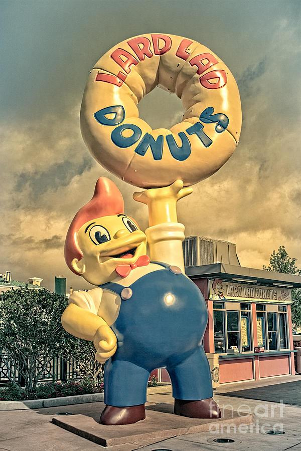 Lard Photograph - Lard Lad Donuts by Edward Fielding