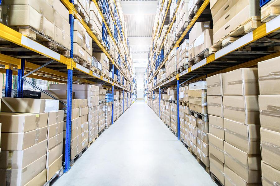 Large & modern warehouse Photograph by Yoh4nn