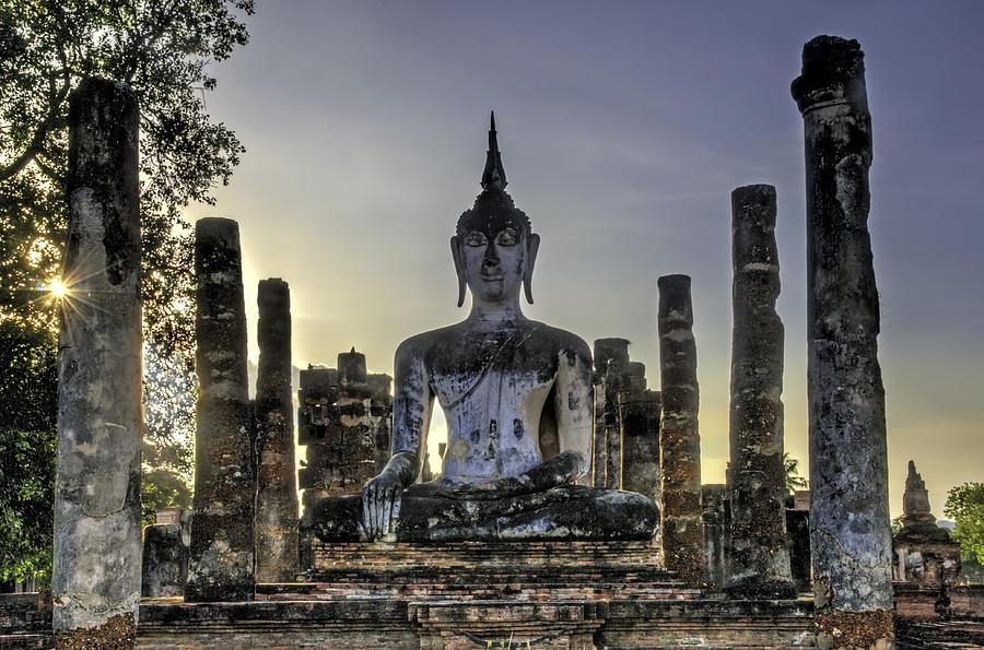 Large Buddha Photograph