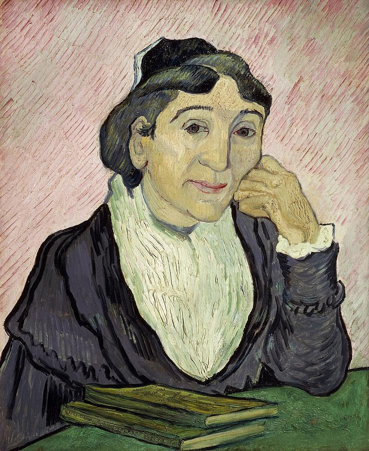 Art Painting - Larlesienne Madame Ginoux by Vincent van Gogh