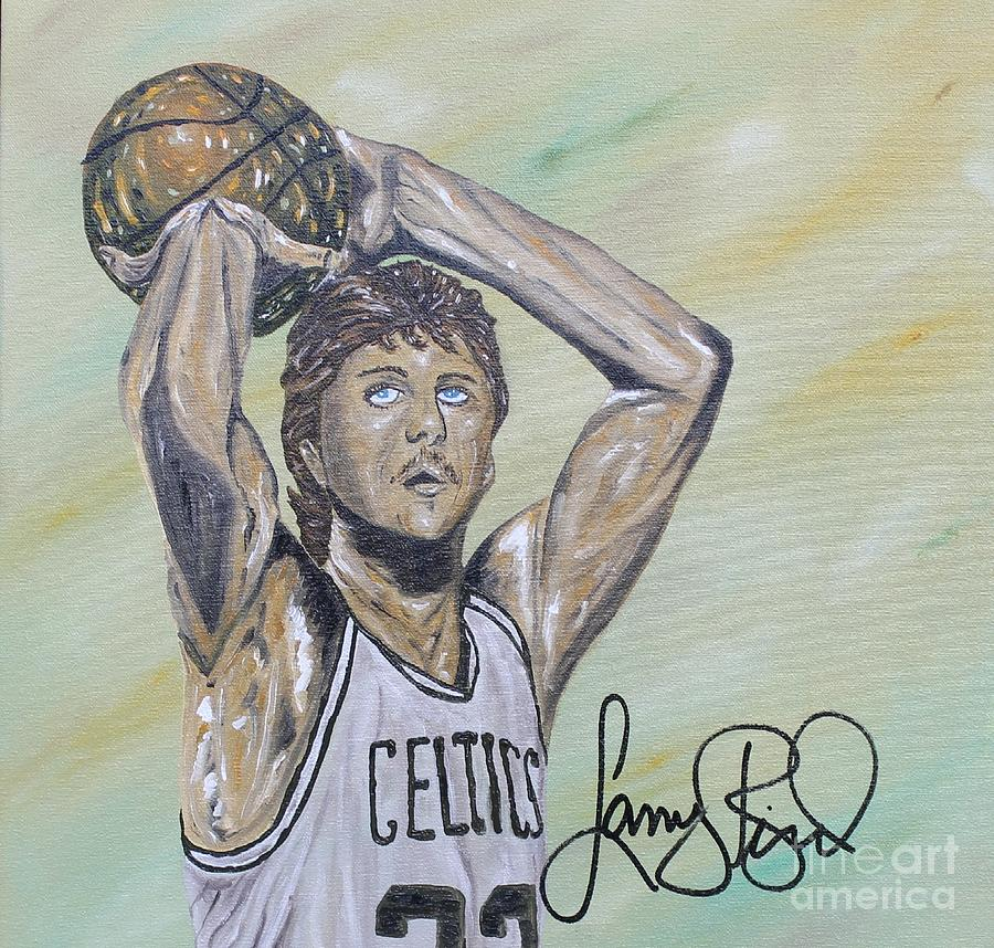 Larry Bird Painting By John Garcia