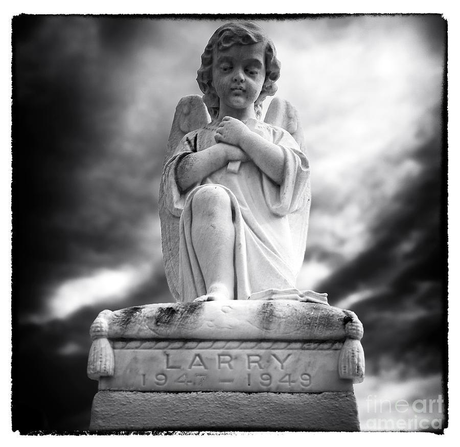 Larry Photograph - Larry by John Rizzuto