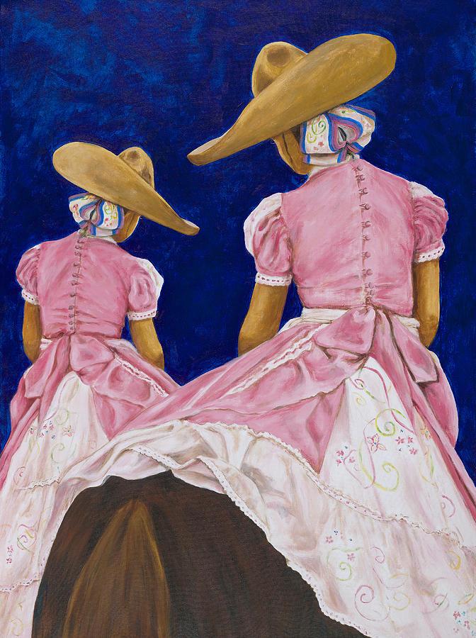Las Charras Rosadas by Pat Haley