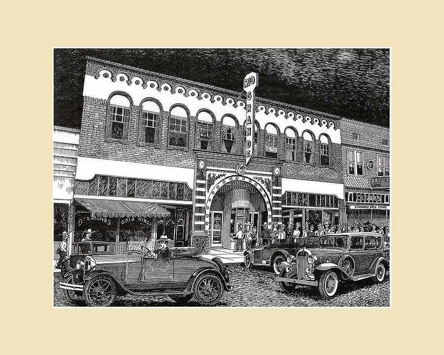 Las Cruces New Mexico 1935 by Jack Pumphrey