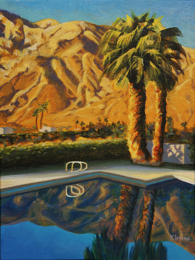 Las Palmas Hills by Kathleen Irvine