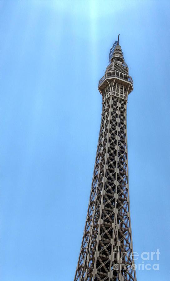 Eiffel Tower Photograph - Las Vegas - Paris by Gregory Dyer