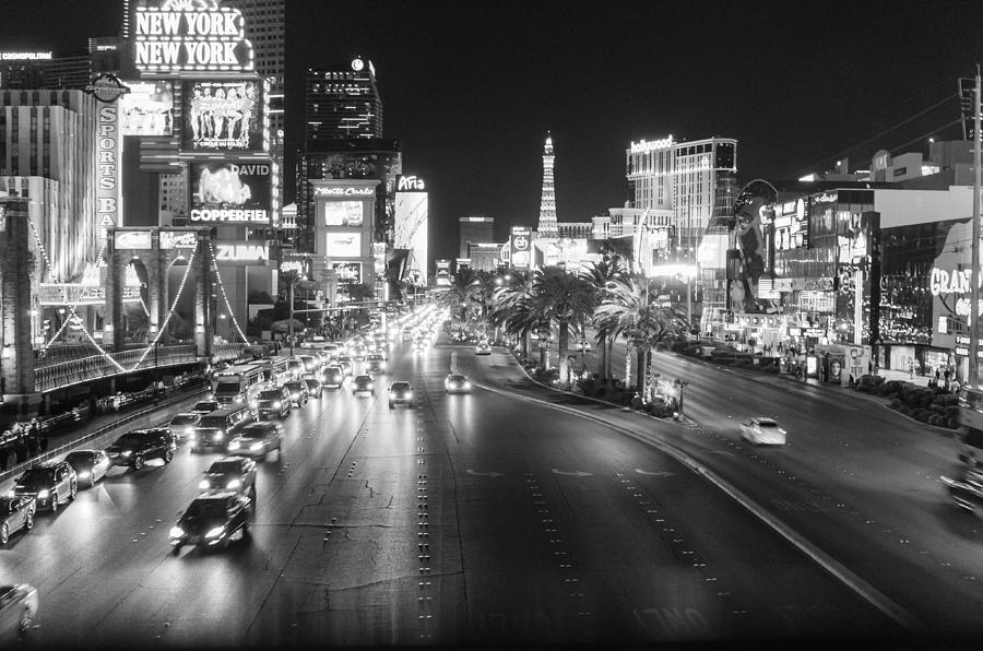 Black And White Vegas Prints