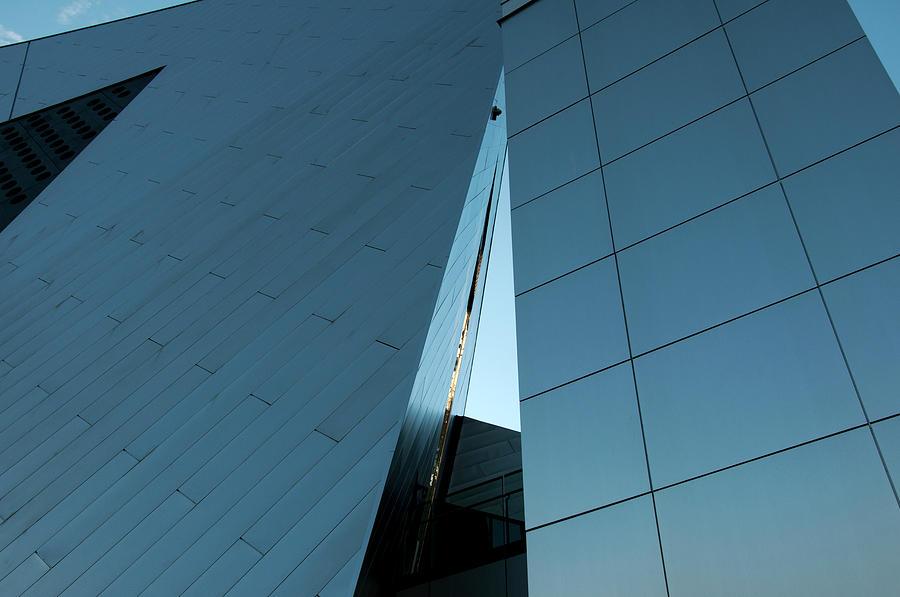 Las Vegas Building Design Photograph by Mitch Diamond