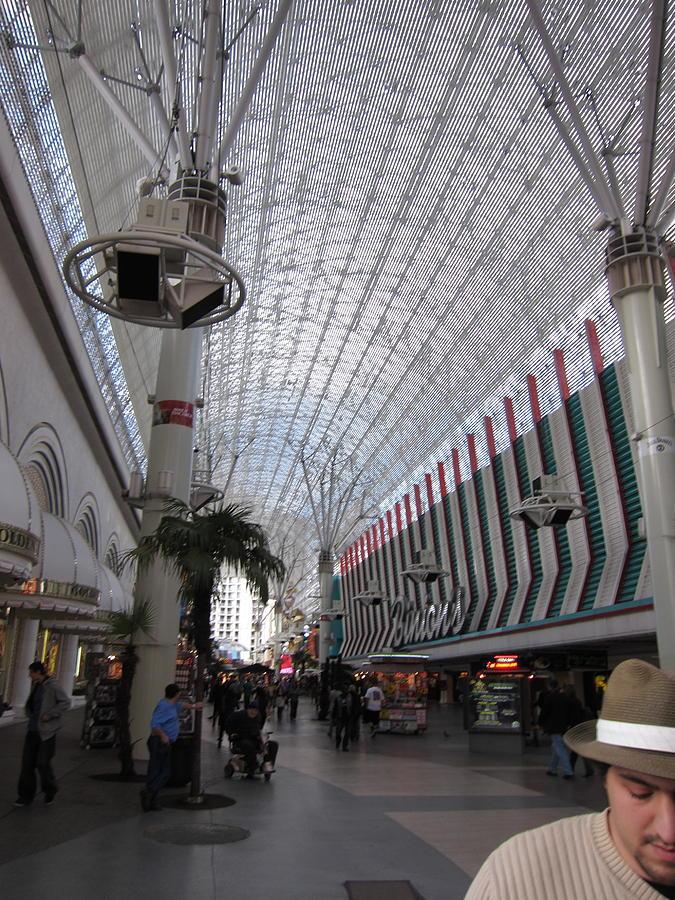 Las Photograph - Las Vegas - Fremont Street Experience - 12121 by DC Photographer