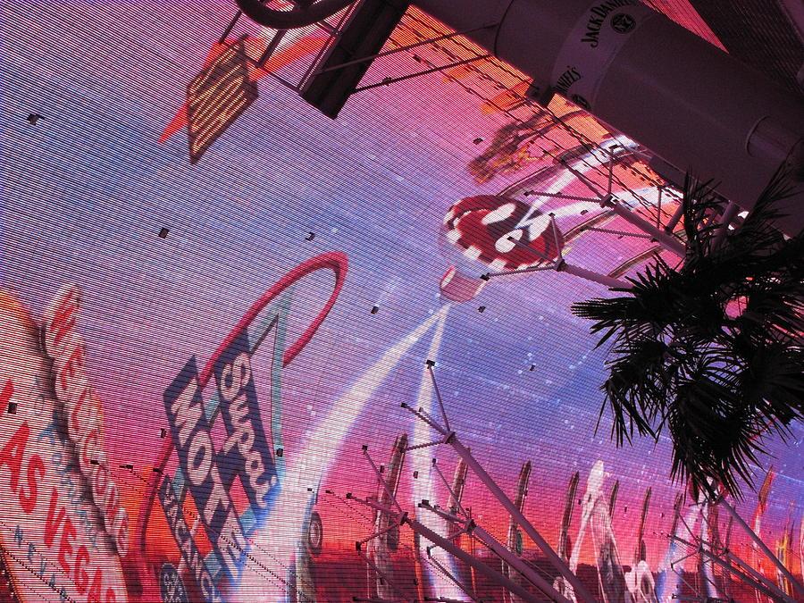 Las Photograph - Las Vegas - Fremont Street Experience - 121212 by DC Photographer