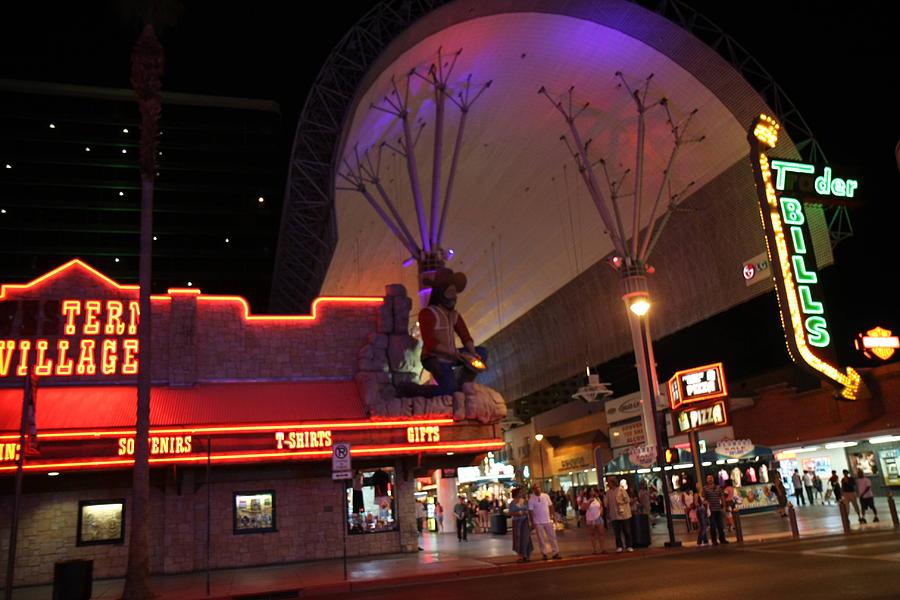 Las Photograph - Las Vegas - Fremont Street Experience - 121222 by DC Photographer