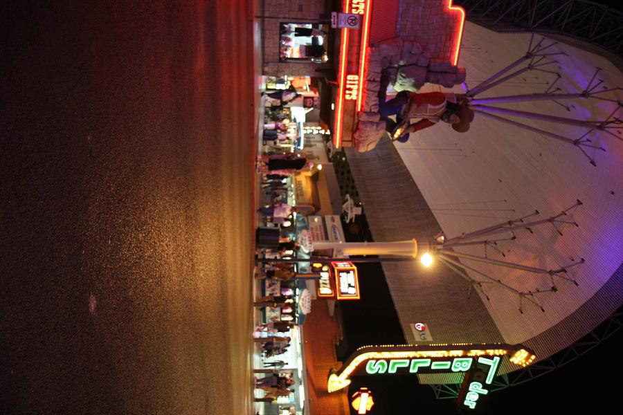 Las Photograph - Las Vegas - Fremont Street Experience - 121223 by DC Photographer