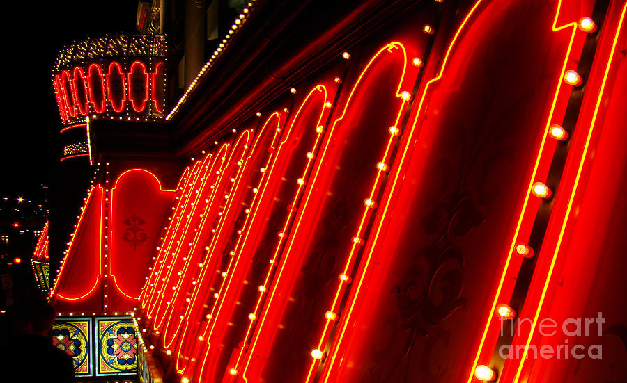 Night Photograph - Las Vegas Neon by Eva Kato