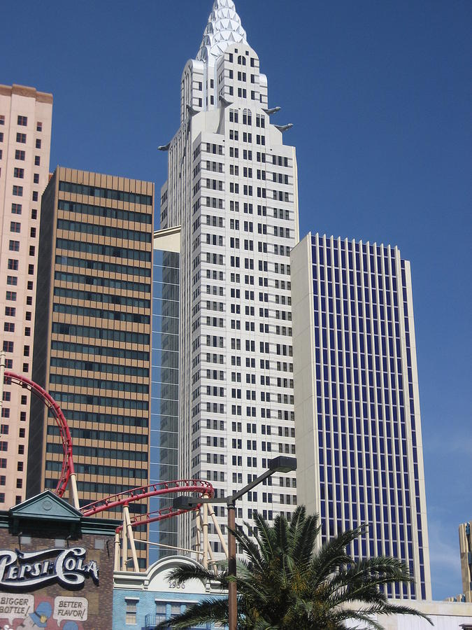 Las Photograph - Las Vegas - New York New York Casino - 12125 by DC Photographer