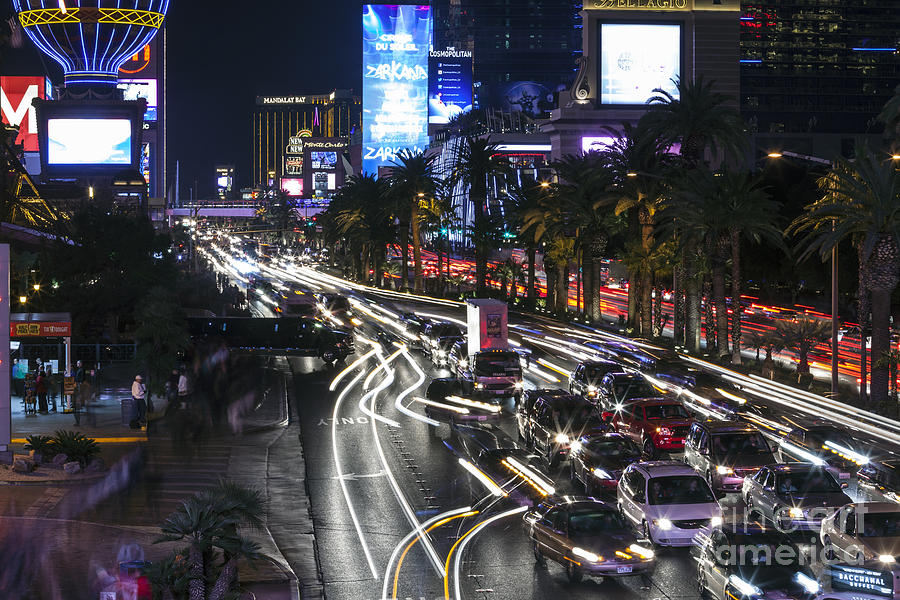 Beauty las vegas strip photographs