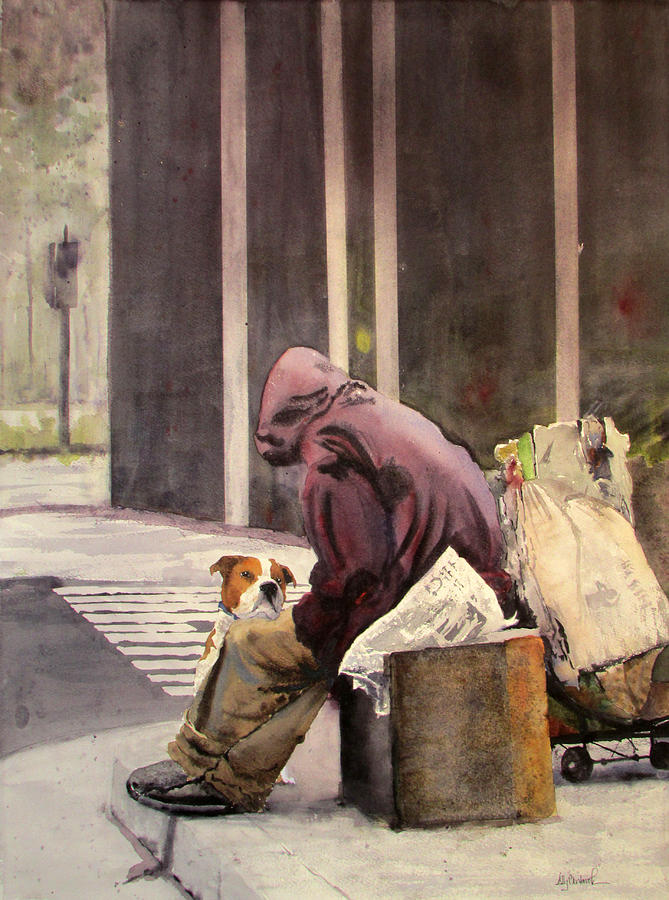 Last Connection 3 Loyalty Painting By Ally Benbrook