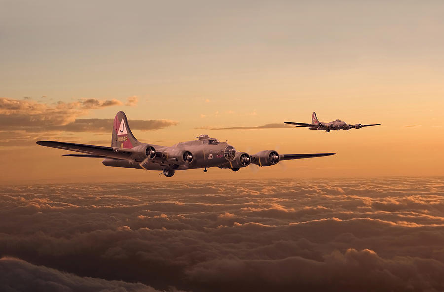 Aircraft Digital Art - Last Home by Pat Speirs