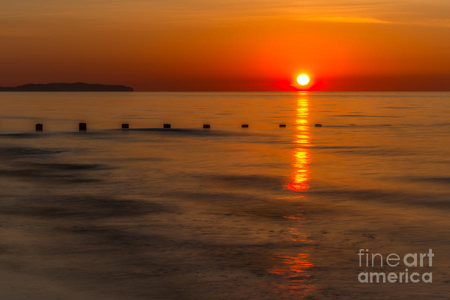 Bay Photograph - Last Light by Adrian Evans
