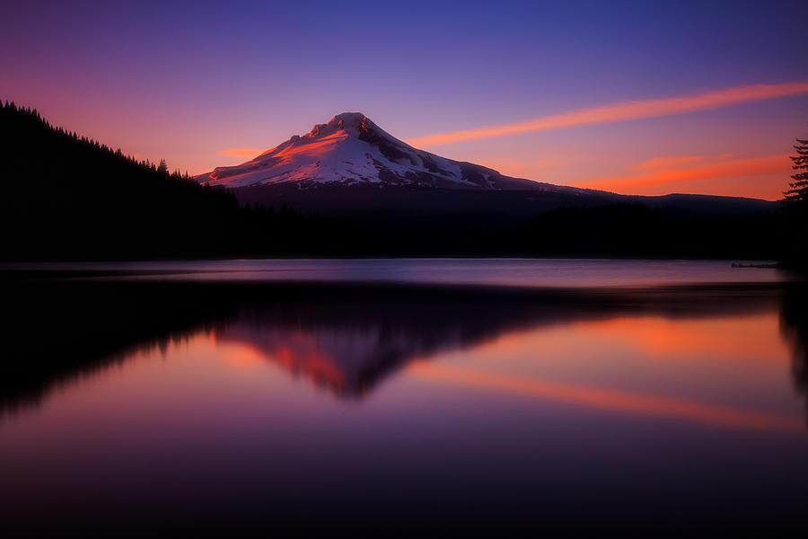Oregon Photograph - Last Light by Darren White