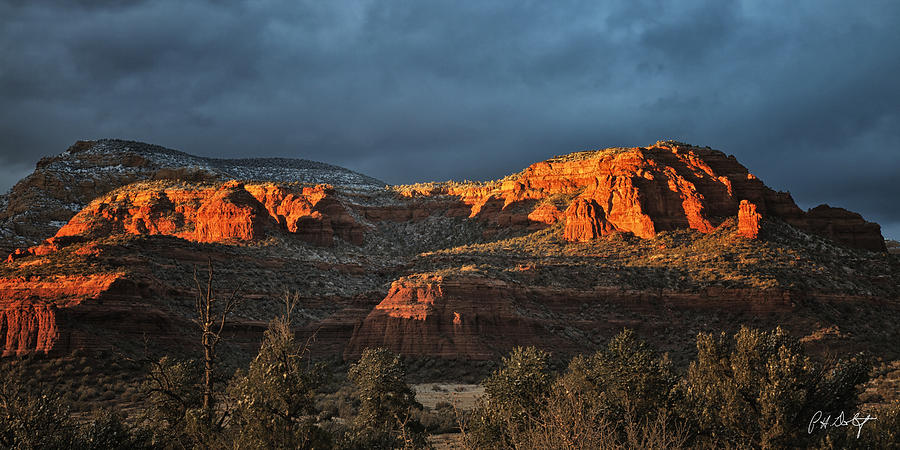 Arizona Photograph - Last Light by Phill Doherty