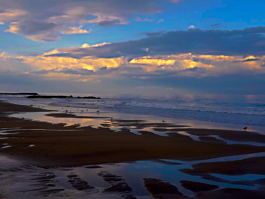 Jersey Shore Photograph - Last Light by William Walker