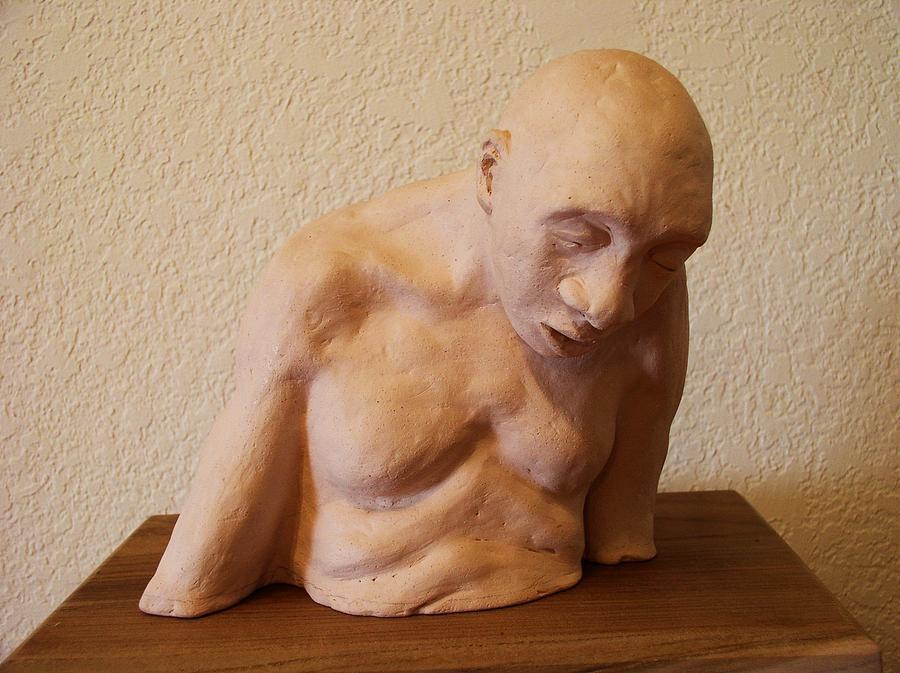 Boxer Sculpture - Last Round At Sharkys by Herschel Pollard