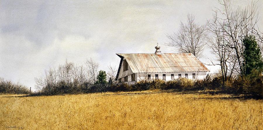Farm Painting - Last Stand by Tom Wooldridge