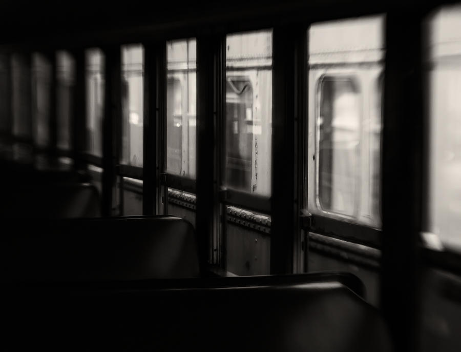 Train Photograph - Last Stop by Amy Weiss