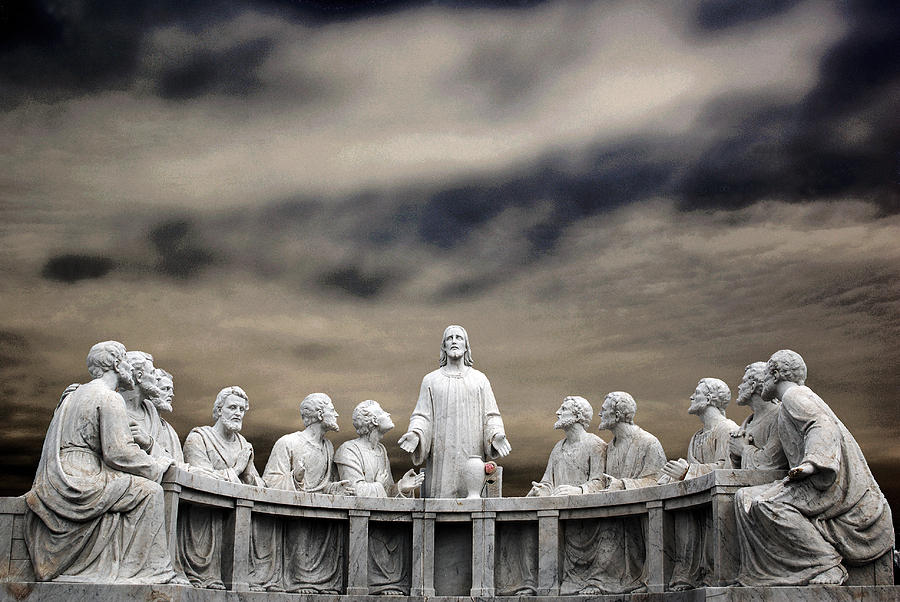 Last Supper Photograph - Last Supper Baltimore Maryland 2008 by John Hanou
