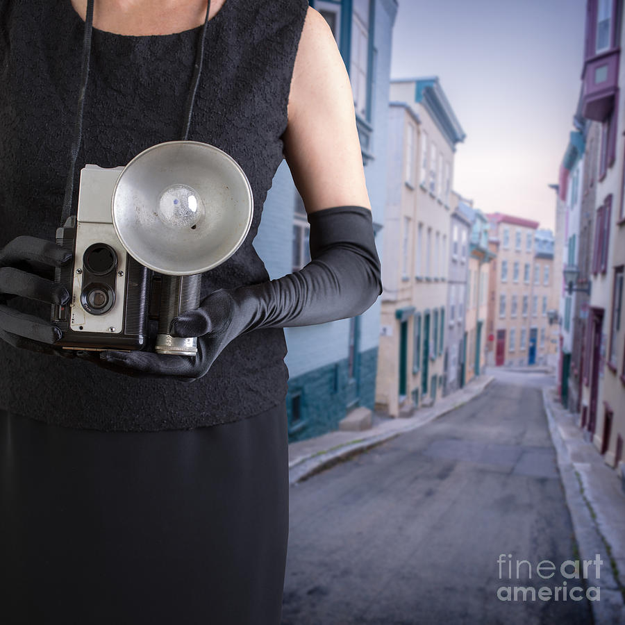 Woman Photograph - Last Thing I Remember Was A Blinding Light by Edward Fielding