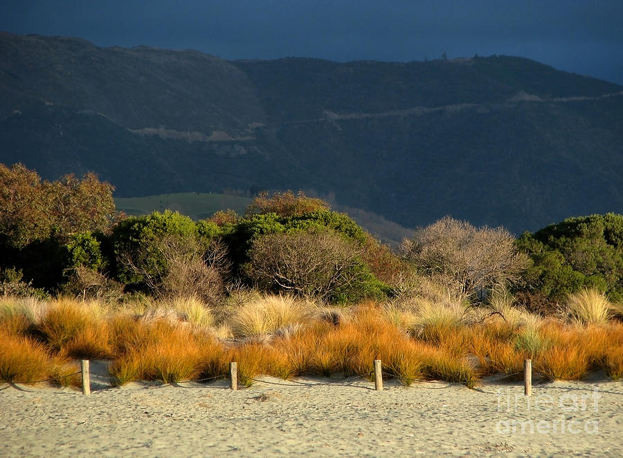 Beach Photograph - Late Afternoon Colours by Jola Martysz