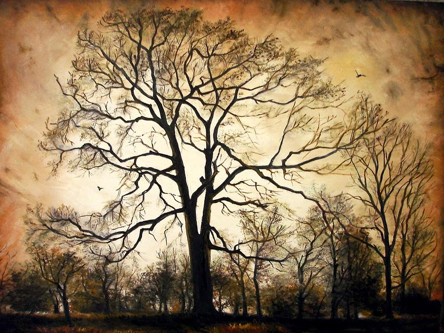 Late Autumn Painting