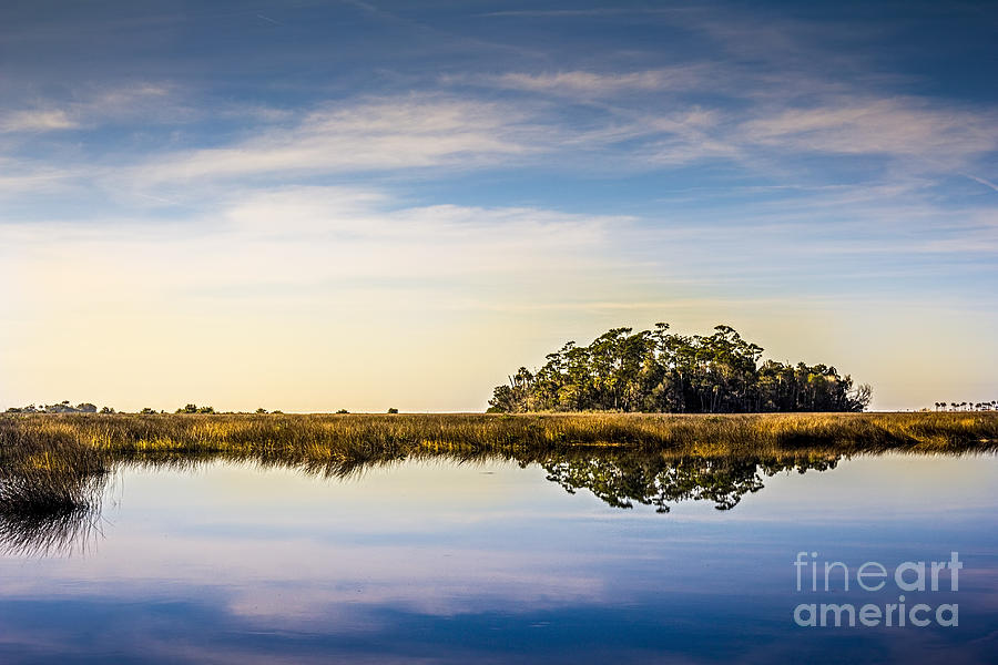 Bayport Photograph - Late Day Hammock by Marvin Spates