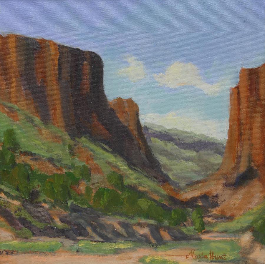 Hiking Diablo Canyon by Maria Hunt